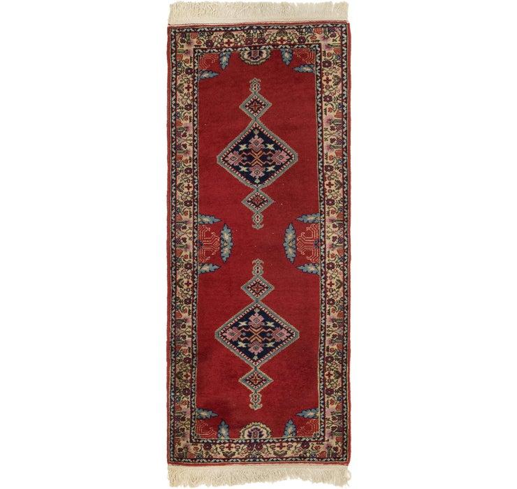 Image of 80cm x 203cm Anatolian Runner Rug