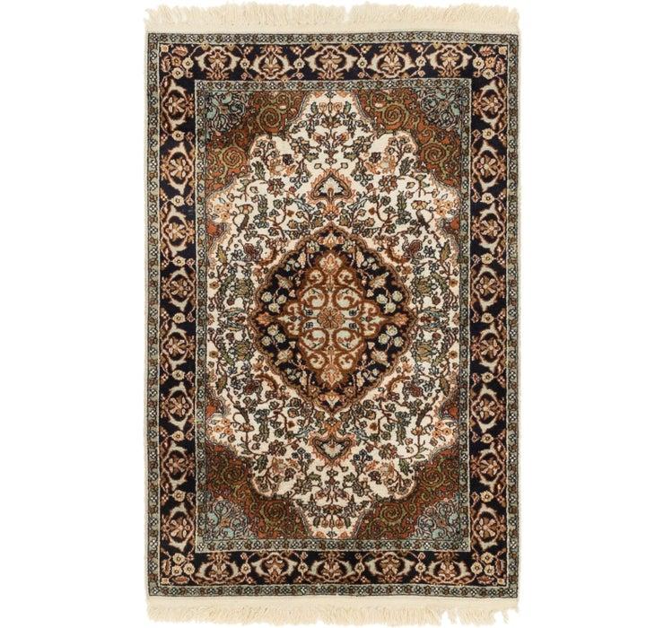 80cm x 122cm Kashmir Oriental Rug