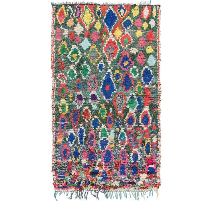 4' 5 x 7' 6 Moroccan Rug