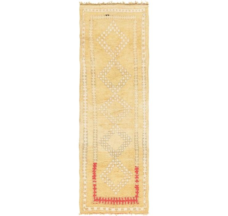 122cm x 370cm Moroccan Runner Rug