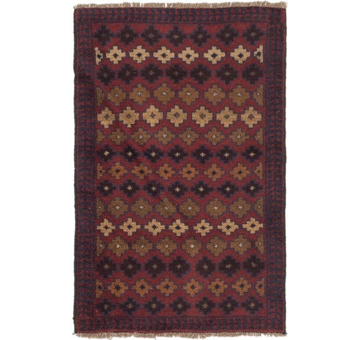 97cm x 140cm Balouch Persian Rug