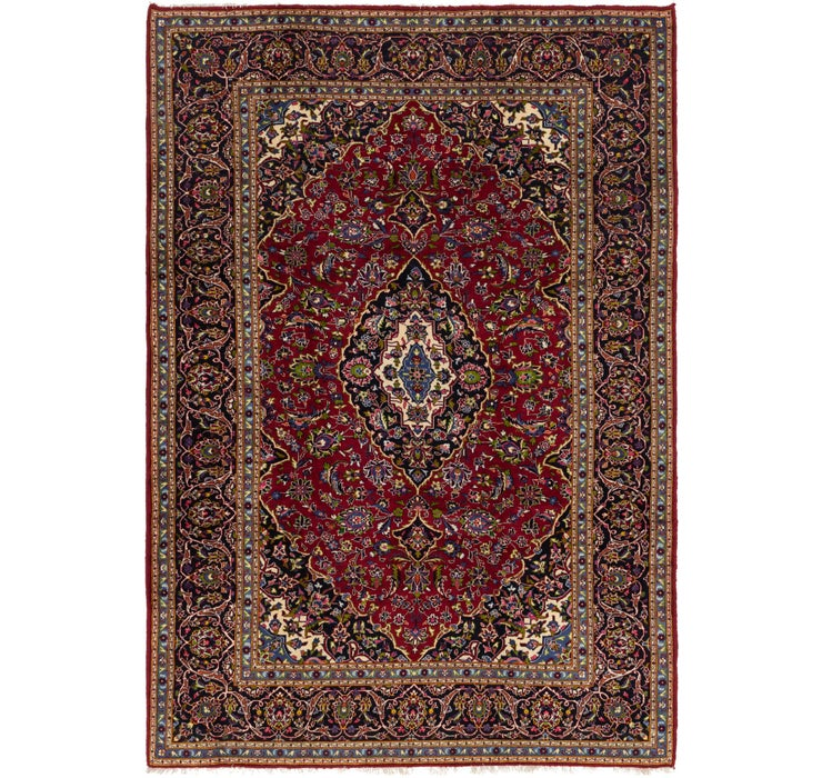 240cm x 345cm Kashan Persian Rug