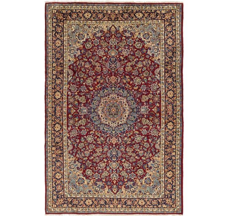 7' 5 x 11' 2 Isfahan Persian Rug