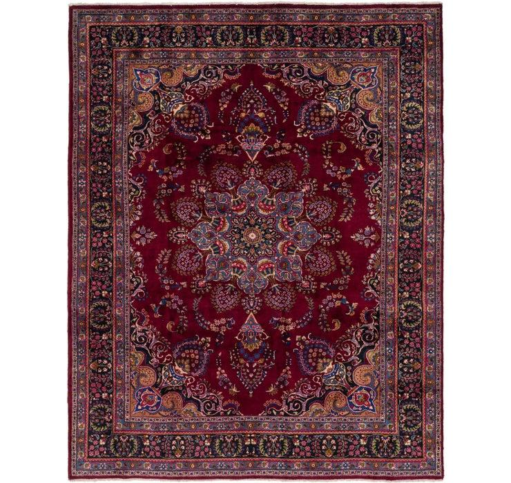 300cm x 380cm Mashad Persian Rug