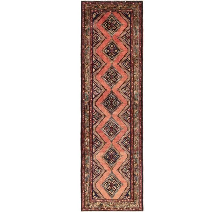 102cm x 335cm Chenar Persian Runner Rug