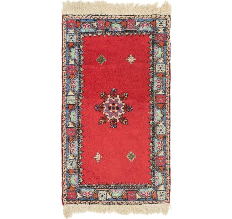 2' 8 x 4' 8 Moroccan Rug
