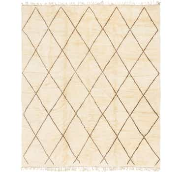 Image of 11' 3 x 13' Moroccan Square Rug