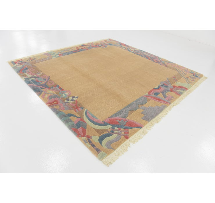 8' x 8' 3 Nepal Square Rug