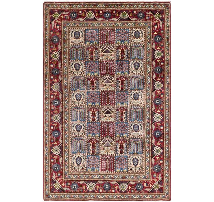 195cm x 315cm Isfahan Persian Rug