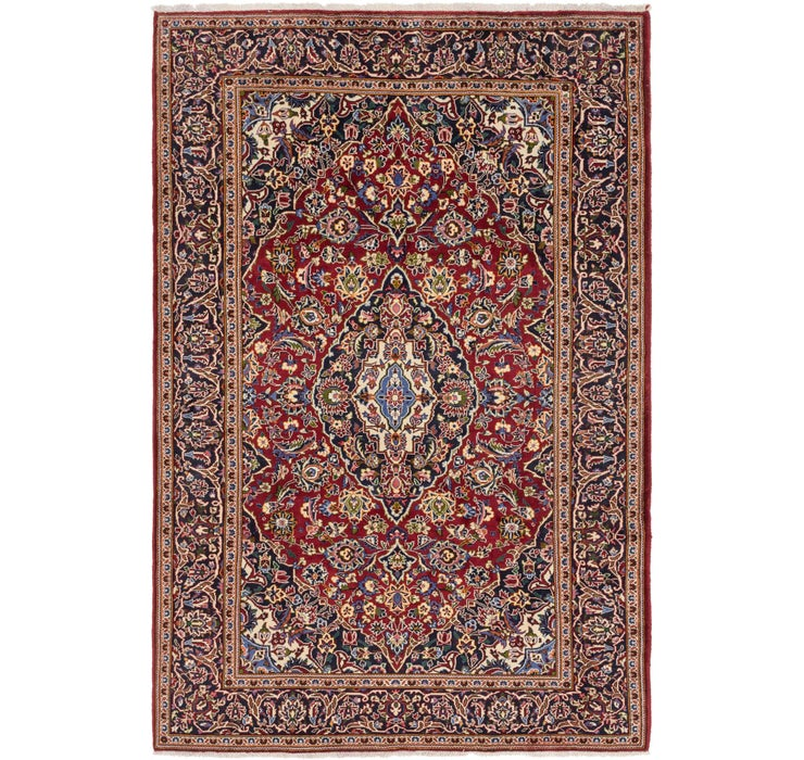 6' 10 x 10' 2 Kashan Persian Rug