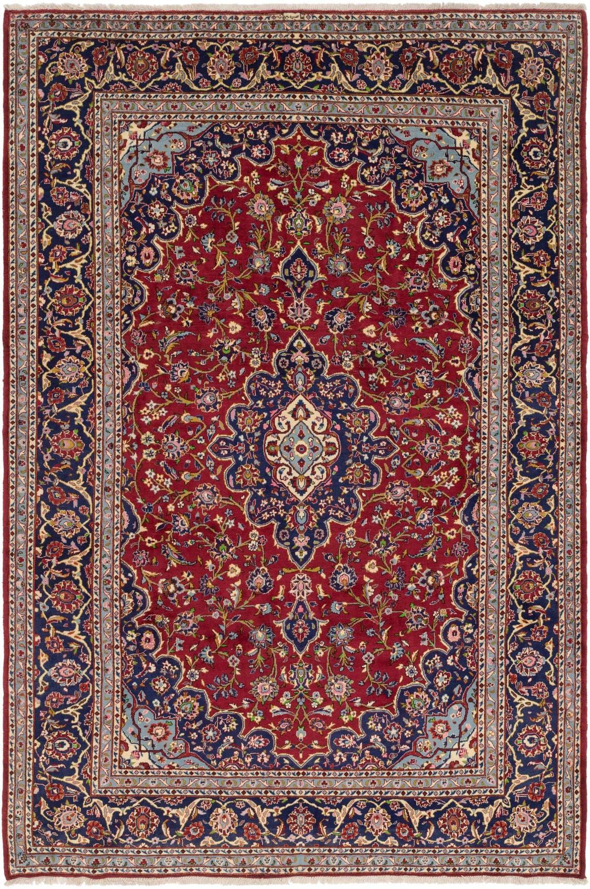 8' 2 x 12' Kashan Persian Rug main image