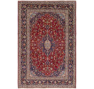 8' 2 x 12' Kashan Persian Rug