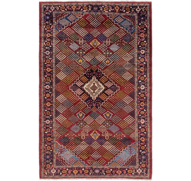 7' x 11' 6 Maymeh Persian Rug