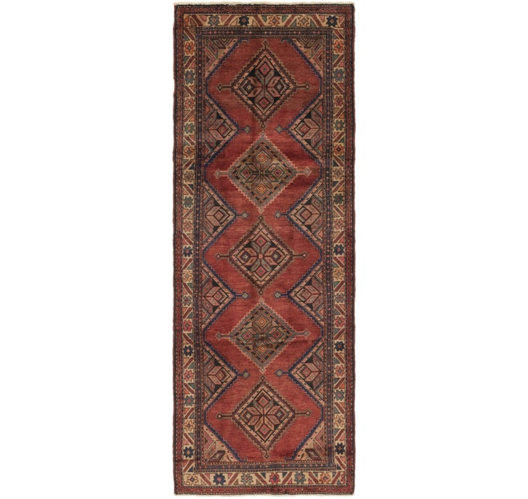 110cm x 305cm Chenar Persian Runner Rug