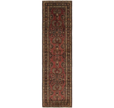 3' 7 x 13' 10 Mehraban Persian Runner Rug main image
