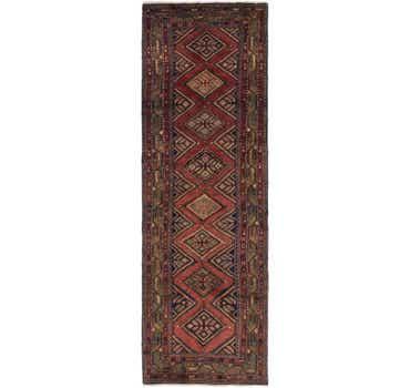 Image of 3' 4 x 10' 9 Chenar Persian Runner Rug