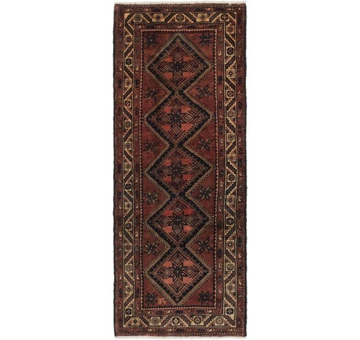 112cm x 297cm Chenar Persian Runner Rug