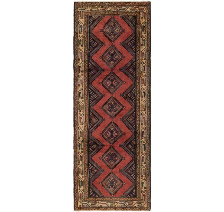 3' 6 x 9' 10 Chenar Persian Runner Rug