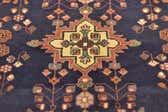 3' 8 x 9' 6 Hamedan Persian Runner Rug thumbnail