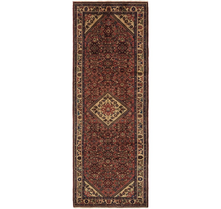 Image of 110cm x 305cm Hossainabad Persian Run...