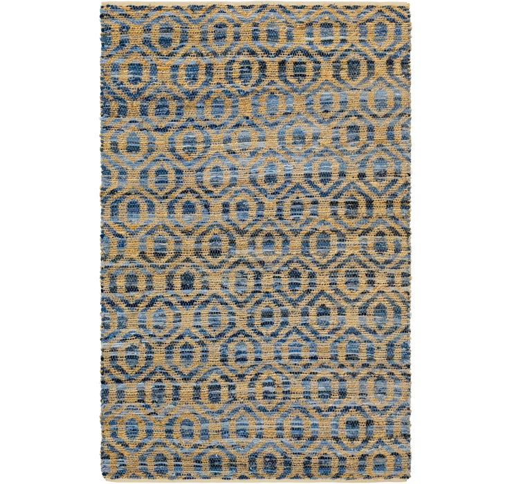 5' x 7' 9 Braided Chindi Rug