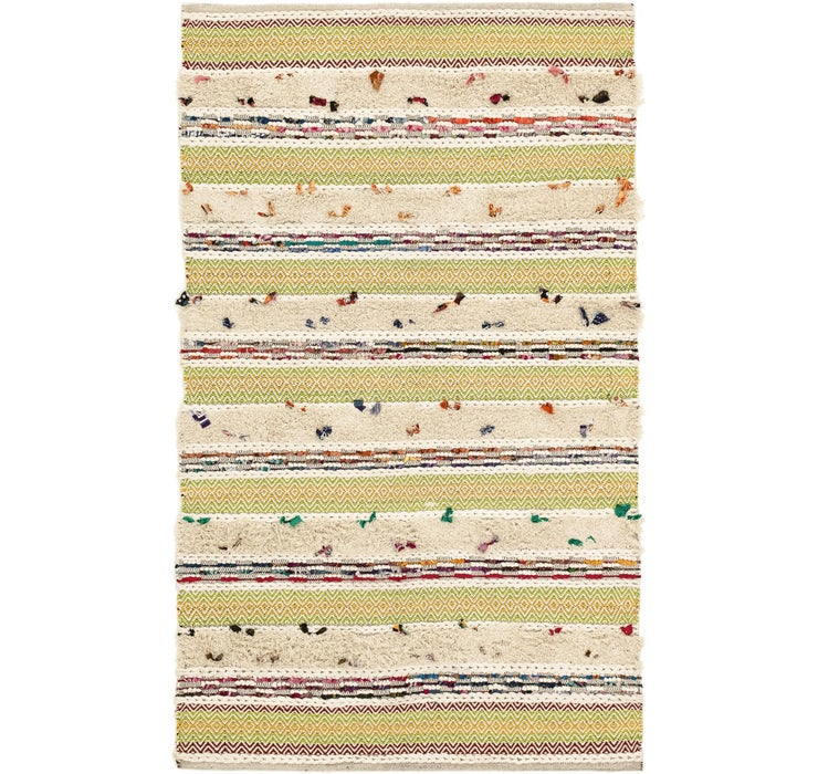170cm x 255cm Chindi Cotton Rug