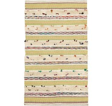 5' 7 x 8' 4 Chindi Cotton Rug main image