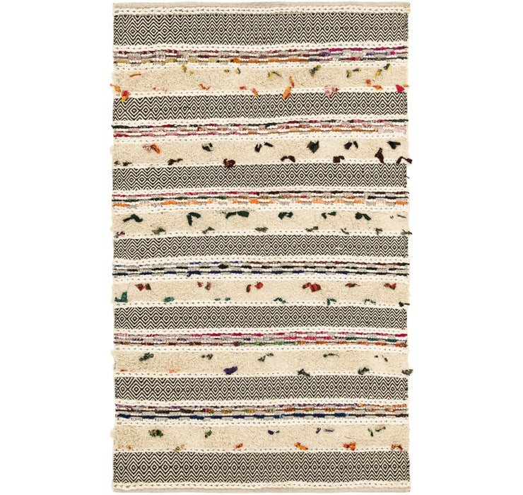 152cm x 260cm Chindi Cotton Rug