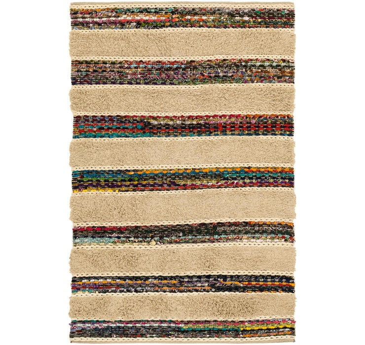 155cm x 235cm Chindi Cotton Rug