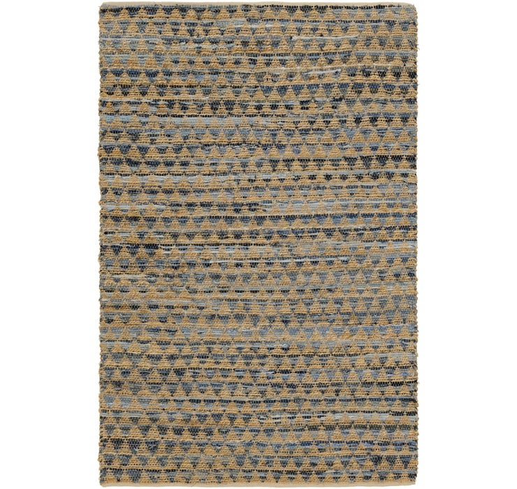 Image of 157cm x 245cm Chindi Cotton Rug