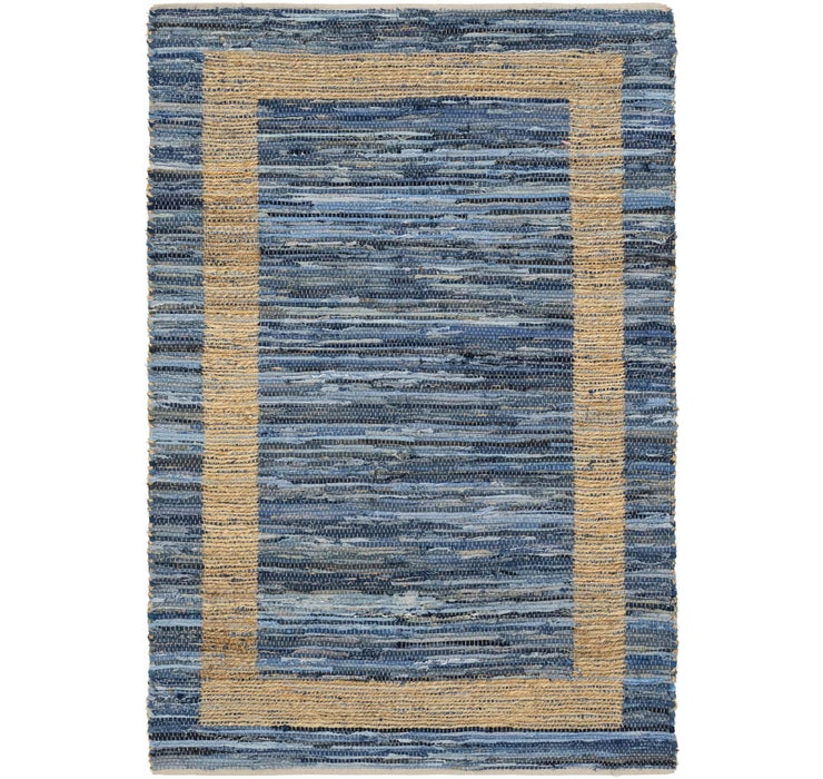 160cm x 230cm Chindi Cotton Rug