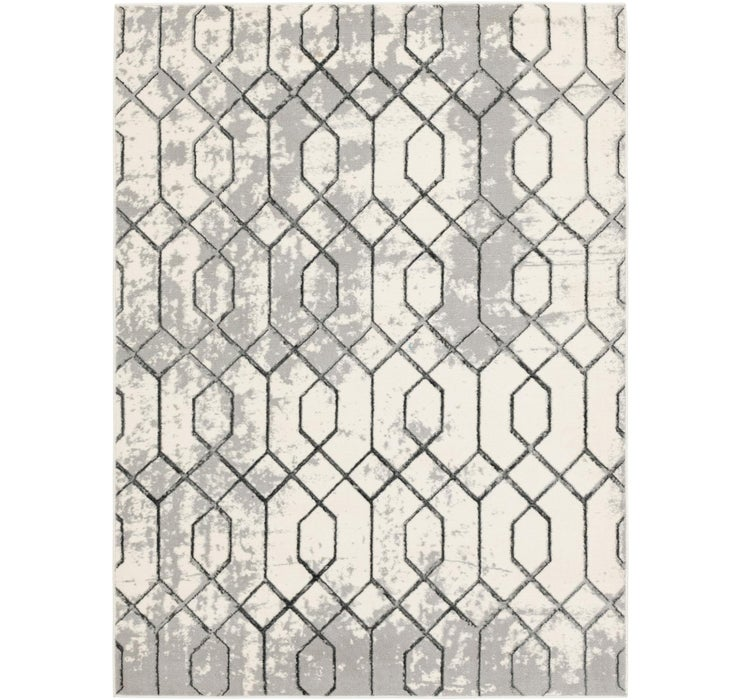 160cm x 218cm Lattice Rug