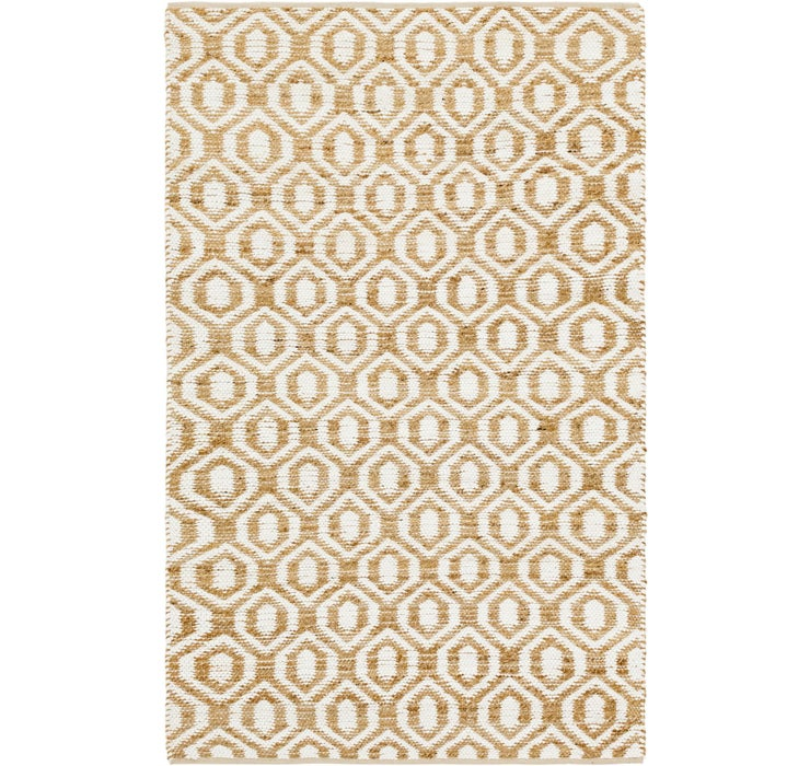 5' 1 x 8' 1 Chindi Cotton Rug