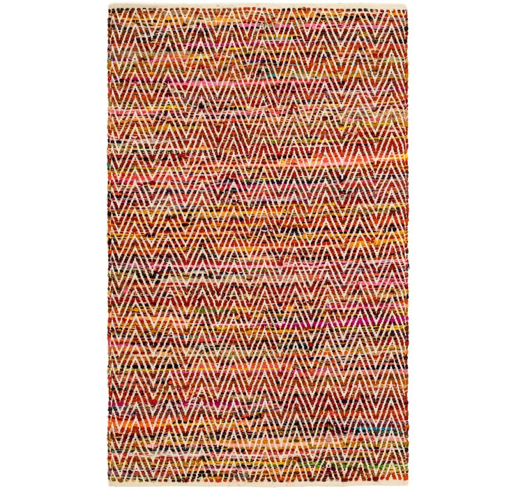122cm x 195cm Chindi Cotton Rug