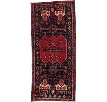 Image of 3' 10 x 8' 5 Sirjan Persian Runner Rug