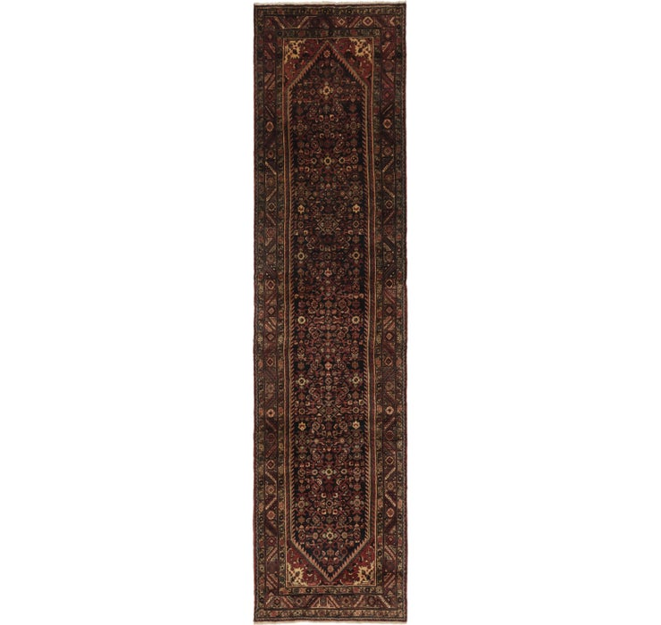 115cm x 457cm Hossainabad Persian Run...