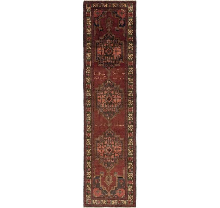 Image of 3' 4 x 13' 3 Saveh Persian Runner Rug