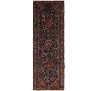 3' 8 x 11' 2 Darjazin Persian Runner Rug
