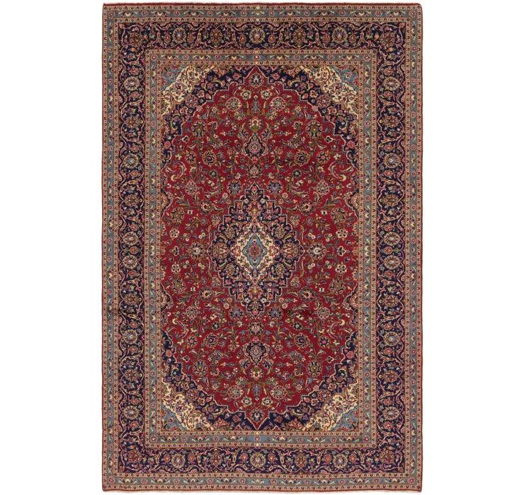 9' 4 x 14' Kashan Persian Rug