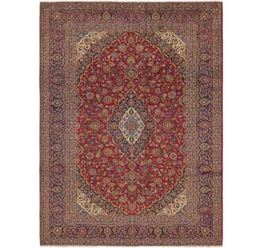 Image of 9' 10 x 13' 5 Kashan Persian Rug