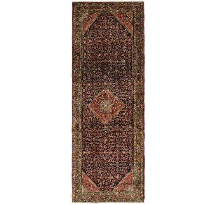 110cm x 325cm Hossainabad Persian Run...