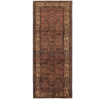 3' 10 x 10' Hossainabad Persian Runner Rug main image