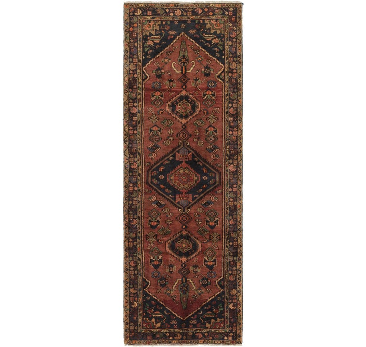 105cm x 300cm Saveh Persian Runner Rug