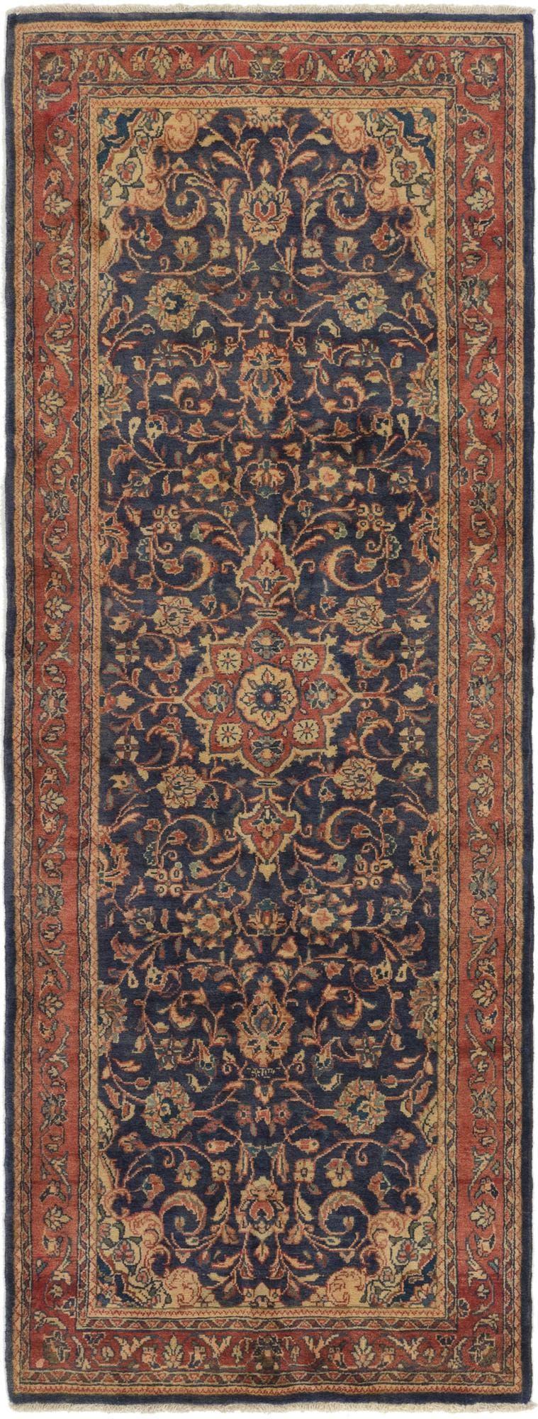 3' 10 x 11' Mahal Persian Runner Rug main image