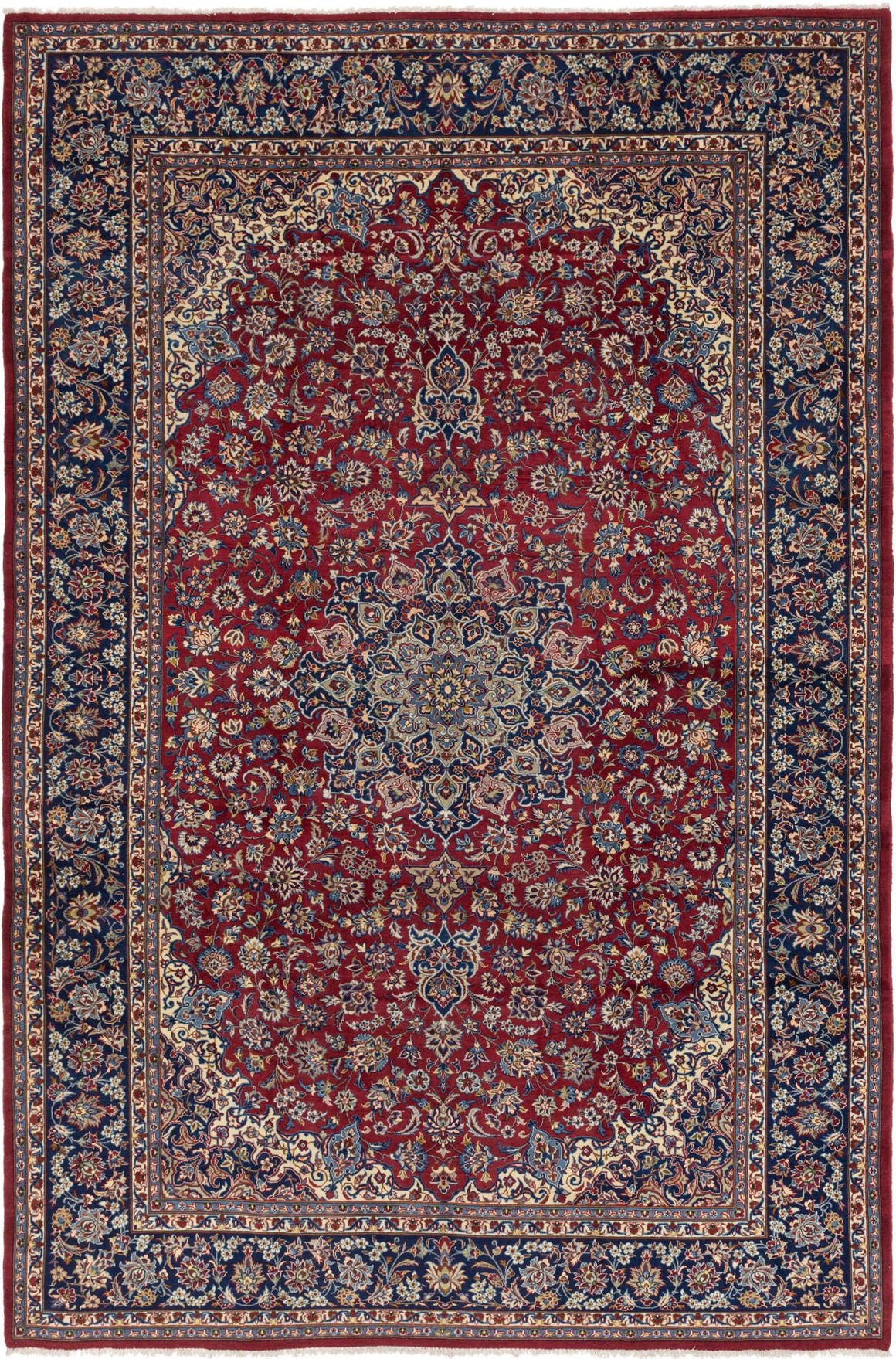 Red 305cm x 457cm Isfahan Persian Rug
