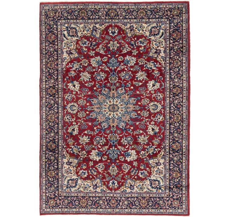 8' 7 x 11' 10 Isfahan Persian Rug