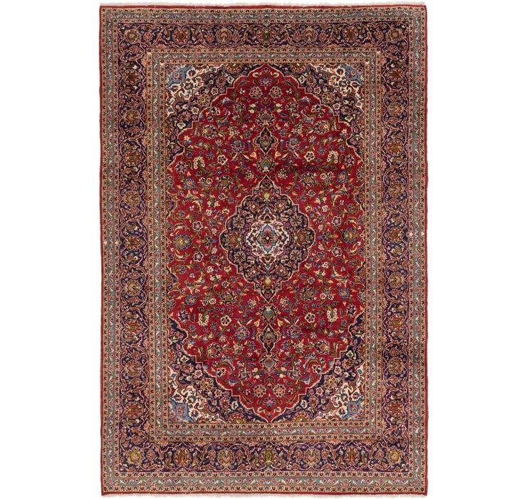 8' 3 x 12' 3 Kashan Persian Rug