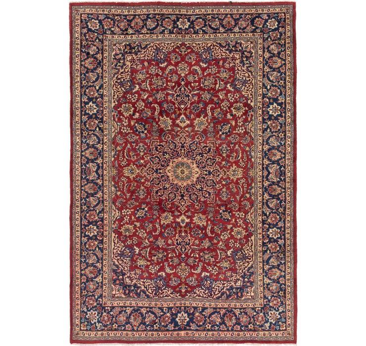 7' 8 x 11' Isfahan Persian Rug