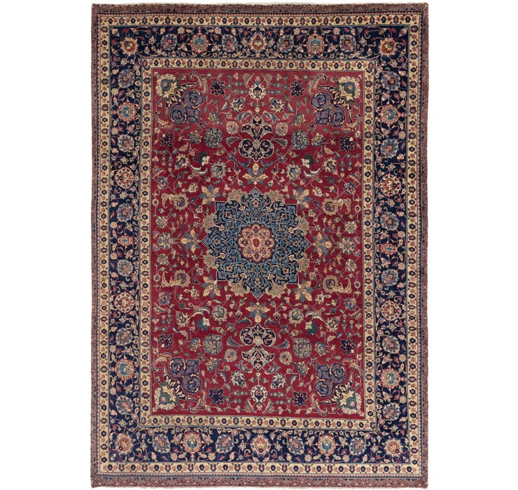 275cm x 390cm Isfahan Persian Rug