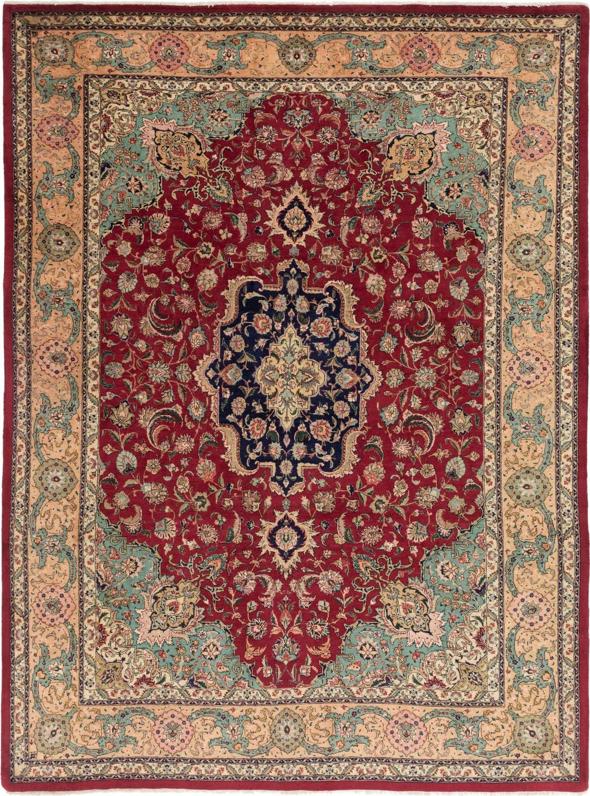 9' 7 x 13' 2 Tabriz Persian Rug main image